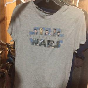 Star Wars the last Jedi xl shirt